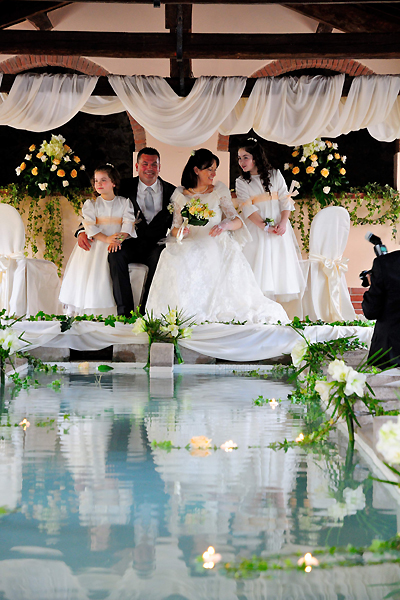 Rio nell'elba ancient wash house transformed into a Wedding Theater